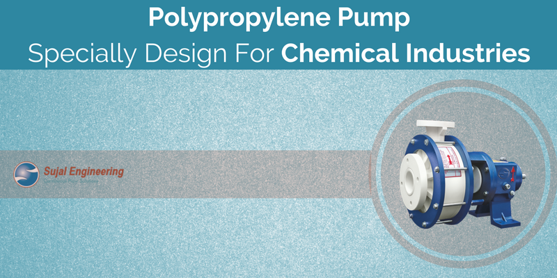 Polypropylene Pump For Chemical Industries