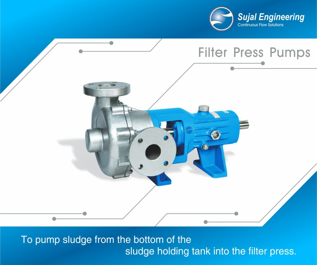 Filter Press Pump – For Food Industries