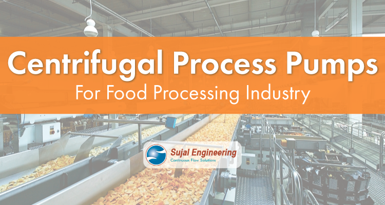 Centrifugal Process Pumps For Food Processing Industry