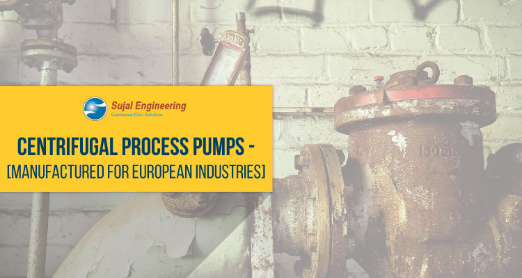 Centrifugal Process Pumps Manufactured For European Industries