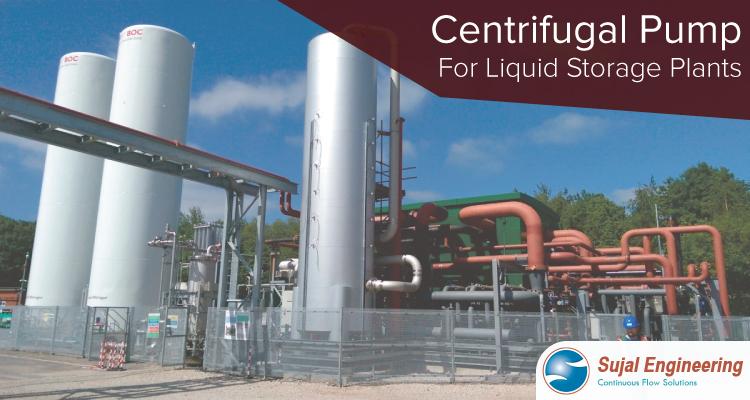 Centrifugal Pump For Liquid Storage Plants