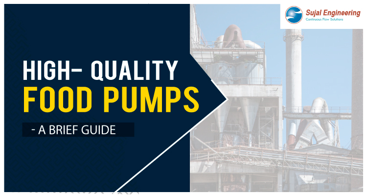 High Quality Food Pumps A Brief Guide