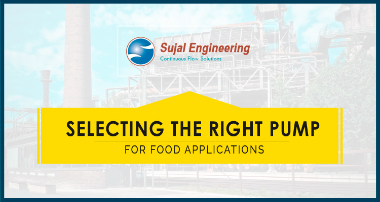 Selecting The Right Pump For Food Applications