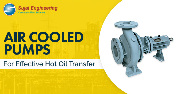 Air Cooled Pumps For Effective Hot Oil Transfer