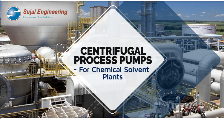 Centrifugal Process Pumps For Chemical Solvent Plants