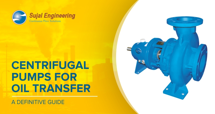 Centrifugal pumpst for oil transferring
