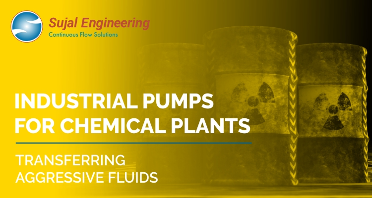 Industrial Pumps For Chemical Plants Transferring Aggressive Fluids