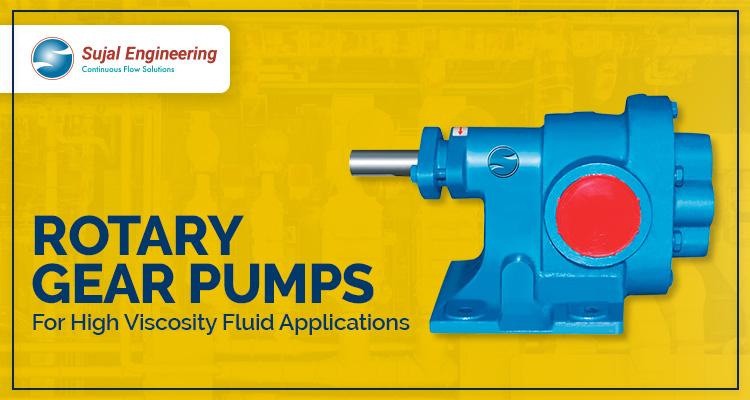 Rotary Gear Pumps For High Viscosity Fluid Applications