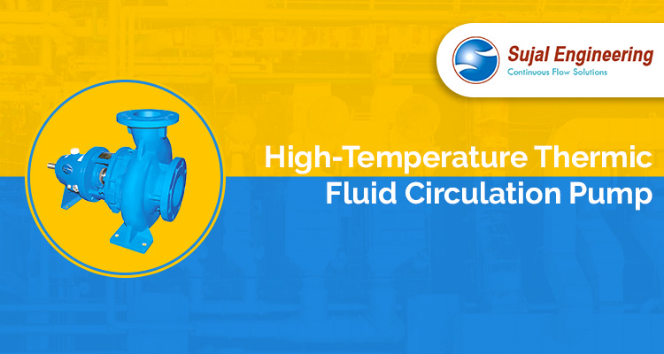 High Temperature Thermic Fluid Circulation Pump
