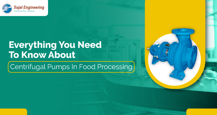 Everything You Need To Know About Centrifugal Pumps In Food Processing